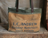 Recycled Canvas Carryall