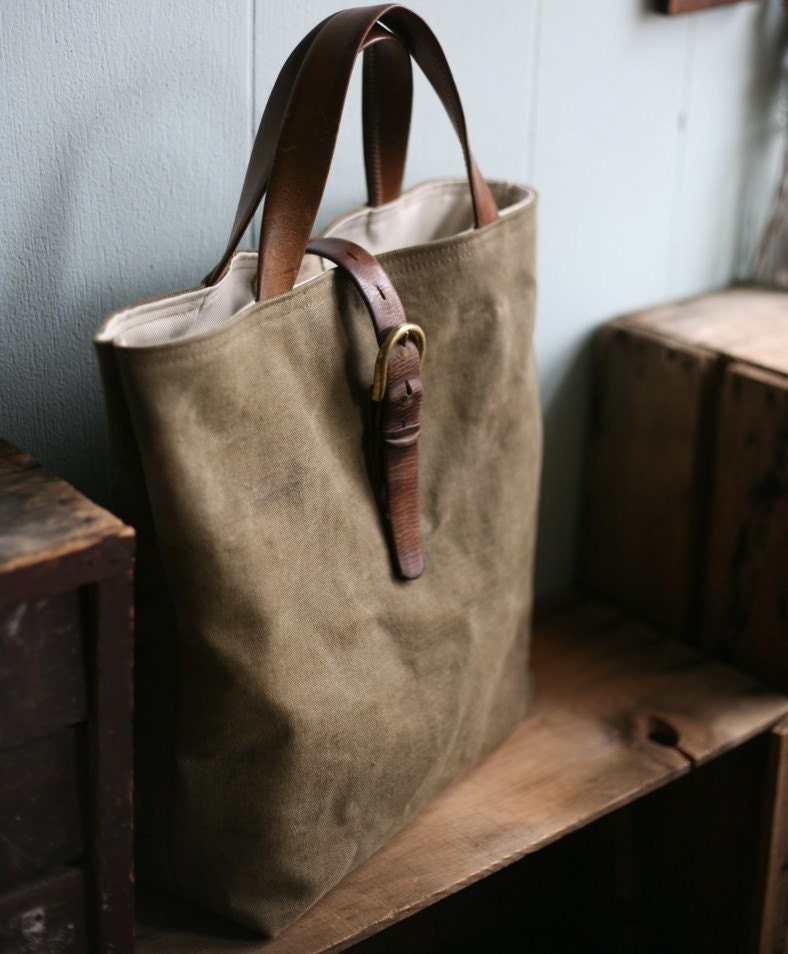 Canvas tote leather handles – Trend models of bags photo blog