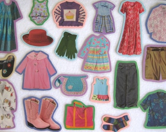 Felt Board Set, Clothing and Fashion, Dress Up