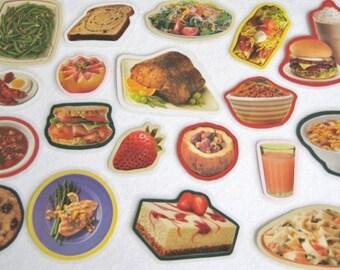 Food Felt Board Set, Food Flannel Board, Teachers Resource,  Meal Planning Felt Board