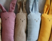 Soft Rabbit Friends - Choose Two Custom Colors