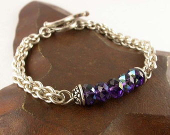 Jens Pind Chain Maille Bracelet - Instant Download