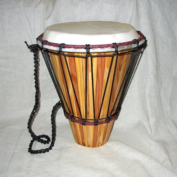 Travel drum - Cedar and Redwood