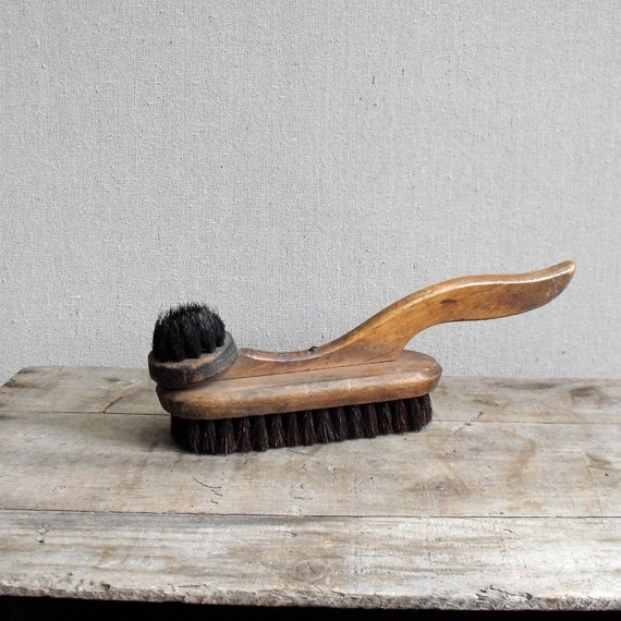 Antique Shoe Brush and Polisher