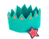 Felt Crown Superstar with detachable star