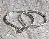 Sterling Silver Endless Sleeper Hoop Earrings