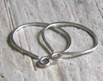 Sterling Silver Endless Sleeper Hoop Earrings