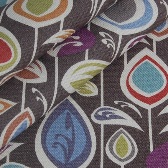 fat quarter organic canvas fabric - BLOOM - an original fabric from Daisy Janie