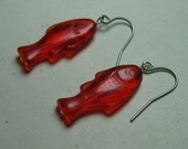 Red Glass Fish - Mini Penny Candy