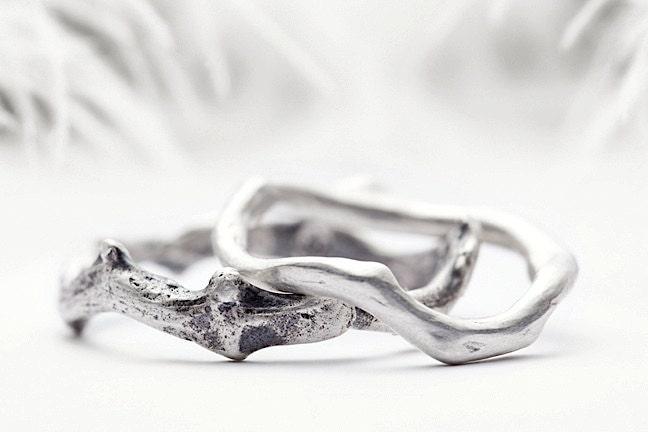 zoom - Elvish Wedding Rings
