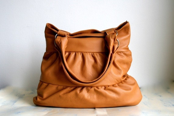 Truffle in Butterscotch Leather