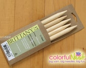 US 15 double-pointed knitting needles by Brittany in birch set of 5 (10mm)