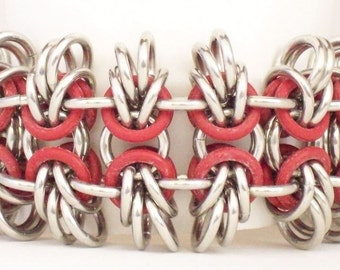 Unisex Beez Stretchy Chainmaille Cuff