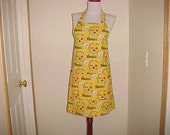 Full Apron Reversible Pittsburgh Steelers Print for Men and Women with Pockets