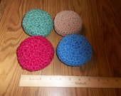 Nylon Netting Scrubbies Set of Four