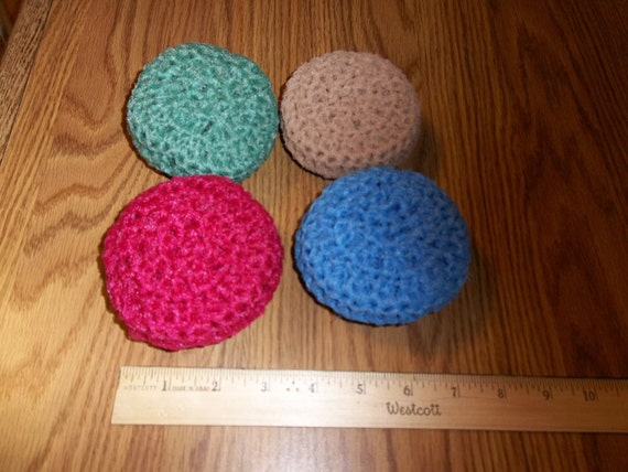 how to cut netting for scrubbies