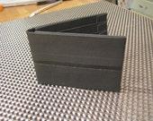 The Stuffer--7-pocket wallet--Black on Black Dominance