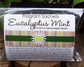 Aroma Bead Sachets, Eucalyptus Mint