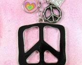 Funkadelic Peace Keychain