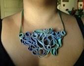 Splendors of the Sea Zipper Necklace