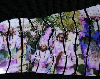 Generations of Mardi Gras Indians - Segemented Bracelet