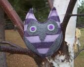 Violet- Felt Owl