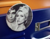 Blondie photo - repurposed album sleeve magnet