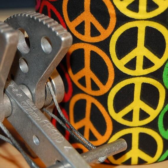 PEACE of Goodness, Handmade Chalk Bag