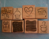 Little Layers Plus - All Occasion Stampin Up Stamp Set