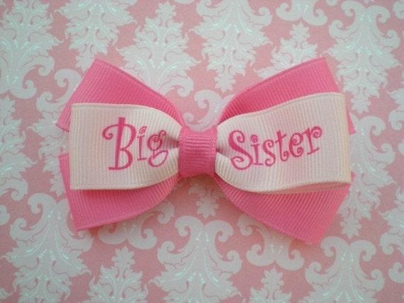 Big Sister Hair Bow