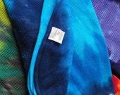 Baby Blanket in Soft Thermal Cotton Custom Tie Dye