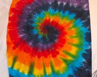 Fabric Tie Dye Rainbow Fat Quarter