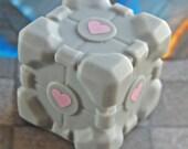 MEGA SALE Companion Cube Soap - Cake scented ...no lie....