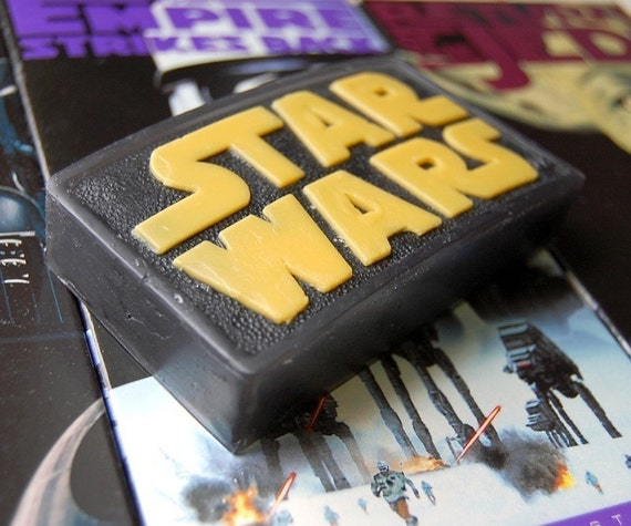 Star Wars Logo Soap - Scented Mandarin Sandalwood
