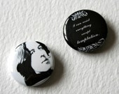 Oscar Wilde Quote Fridge Magnet Cant Resist Temptation
