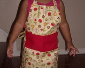 farm fresh toddler chef apron - ChildishThoughts