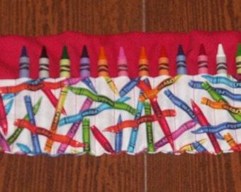 Crayons crayon roll