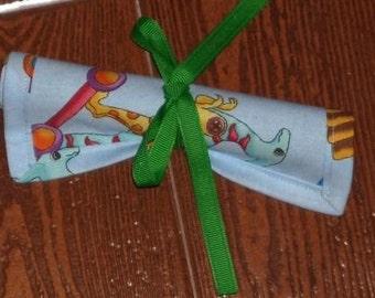 Dino Parade chalk mat