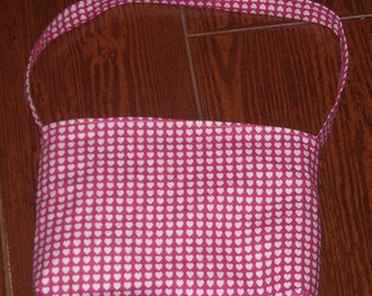 hearts all over toddler purse