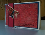Amazing Spider-Man Birthday Card
