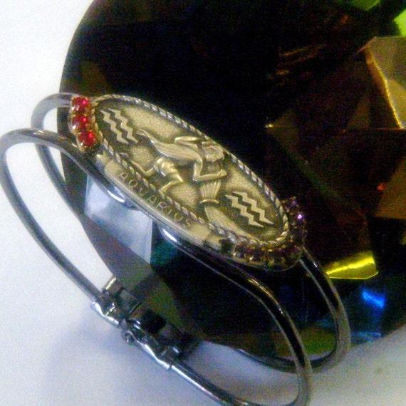 Aquarius The Water Bearer-Zodiac Bracelet