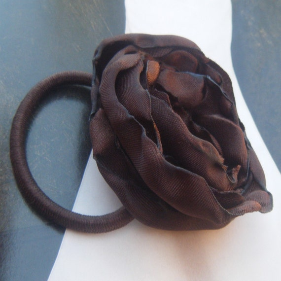 Chocolate Breeze PonyTail Holder
