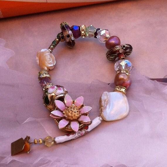Vintage Garden Bracelet-Vintage Inspired-Bohemian Gypsy
