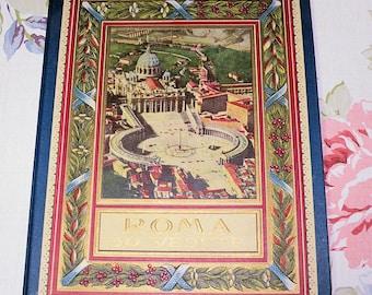 Roma 30 Vedvte Vintage Tourist Guide, Ephemora, Vintage Rome Guide