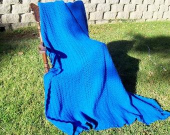 Cozy Comforter--Bright Blue