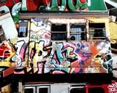 Subway Graffiti Envelopes - Set of 8