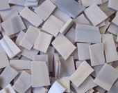 Mosaic Tile GREY Gray Stained Glass 25 pcs Mosaic Tiles