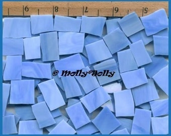 Mosaic Tiles BABY LIGHT BLUE 25 pcs Stained Glass Mosaic Tile