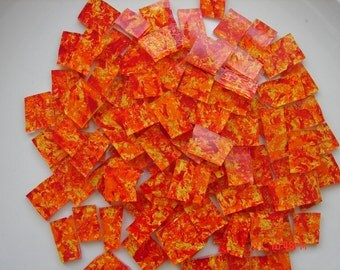 Mosaic Tiles BRIGHT and SUNSETTY Glass Mosaic Tile