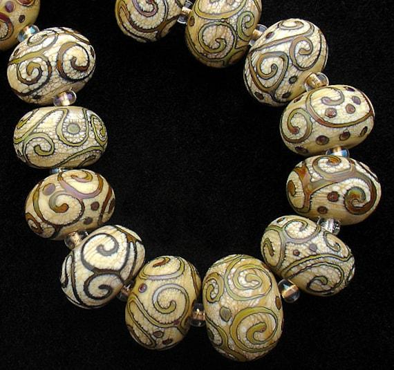 DSG Beads Organic Handmade Lampwork Glass-Made To Order